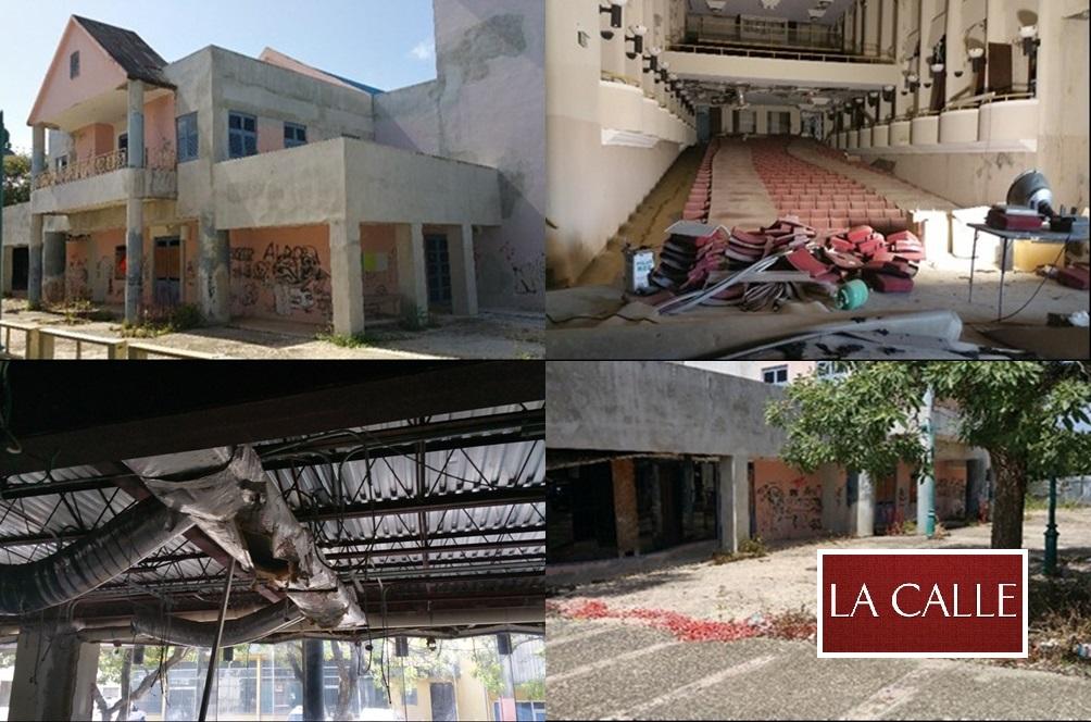 """Aspecto actual del Centro de Bellas Artes de San Sebastián, calificado como una """"ruina funcional"""" (Suministradas Oficina de la Contralora)."""