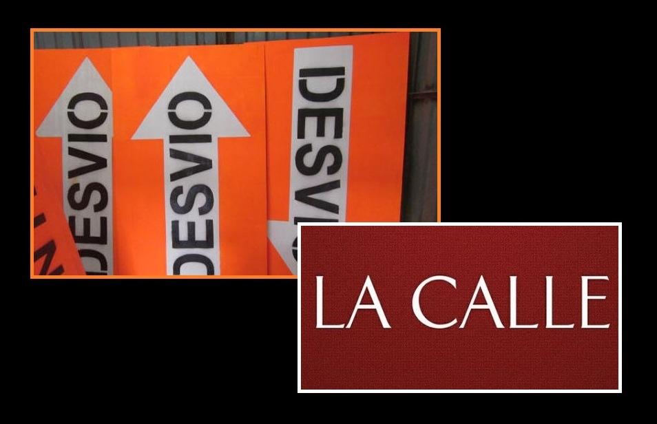 desvio logo LA CALLE