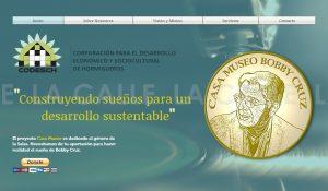 """Desarrollan página """"web"""" para recaudar fondos a beneficio de la Casa Museo Bobby Cruz en Hormigueros"""
