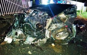 Joven de 19 muere en aparatoso accidente anoche en Aguada