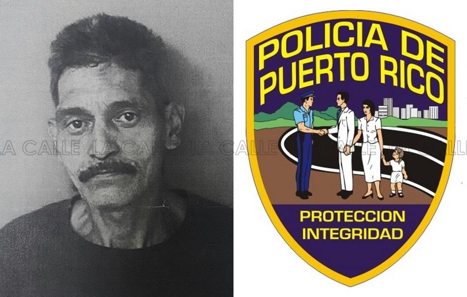 Foto de la ficha de Edwin Díaz Nieves (Suministrada/Policía).