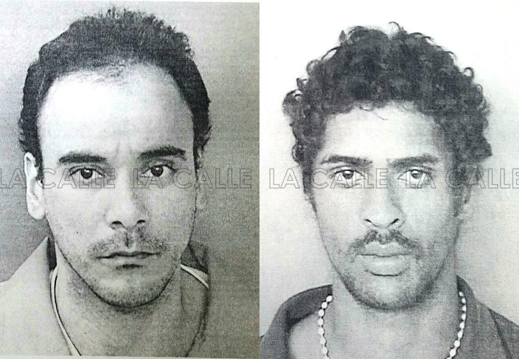 Fotos de la fichas de Francisco González Ramírez y Nery Nelson Millán (Suministradas/Policía).