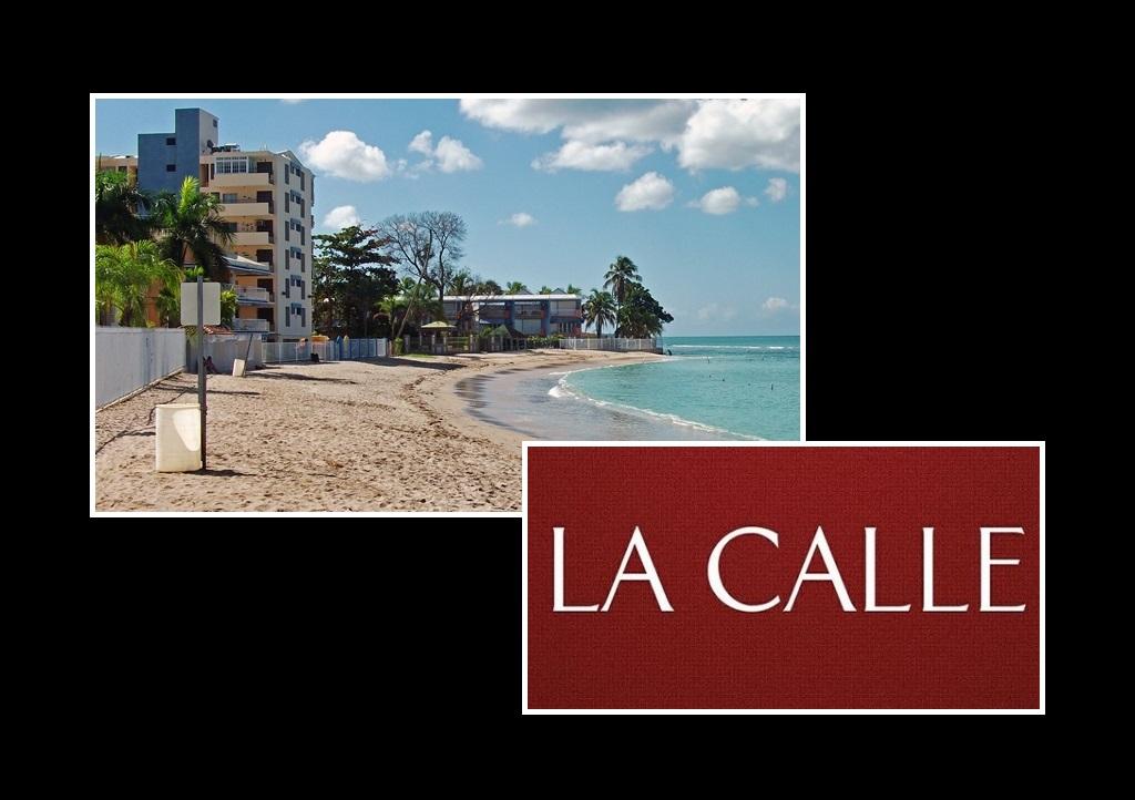 Playa Tres Tubos, frente al condominio Playa Azul en Joyuda.