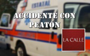Accidente fatal con peatón esta noche cerca del merendero de Aguadilla (Adelanto)
