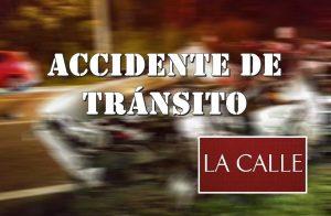 Agentes lesionados en accidente provocado por un borracho esta madrugada en Aguada