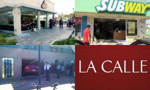 Cuando el carro acaba dentro del negocio… Accidentes ocurridos en años recientes en el Oeste