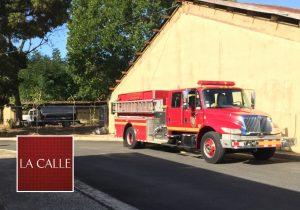 Bomberos controlan incendio esta mañana en Escuela Vocacional de Mayagüez (Adelanto)