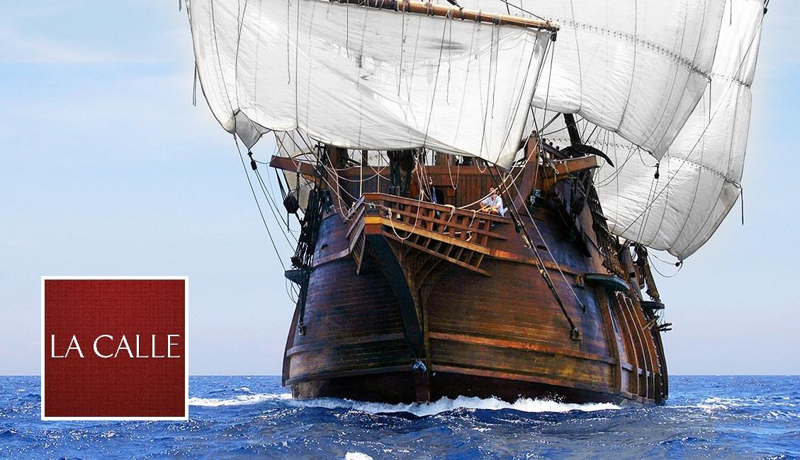 El galeón Andalucía estará abierto al público desde el miércoles (Archivo).