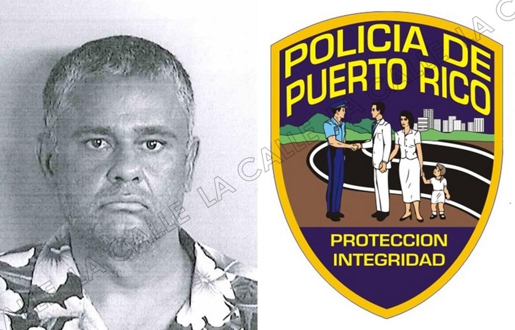"""Foto de la ficha de Daniel Cotto Molina, alias """"El Loquito"""" (Suministrada/Policía)."""