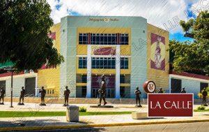 """Arrestan mujer por """"tumbarse"""" un abanico en el Estadio Isidoro García de Mayagüez"""