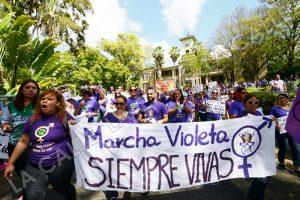 """Mañana jueves es la """"Marcha Violeta"""" en el RUM con motivo de la Semana de la Mujer"""