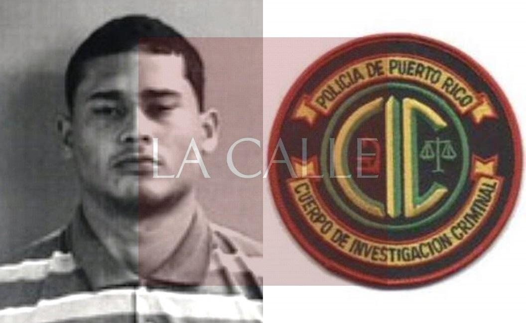 Foto de la ficha de Kevin Caceres Cruz (Suministrada/Policía).