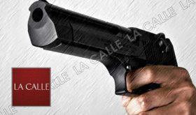 pistola apuntando logo