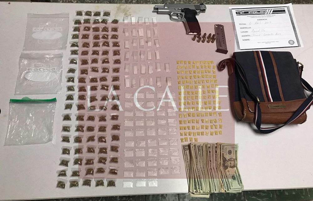 Parte de la droga confiscada por los agentes de Drogas de Aguadilla (Suministrada/Policía).