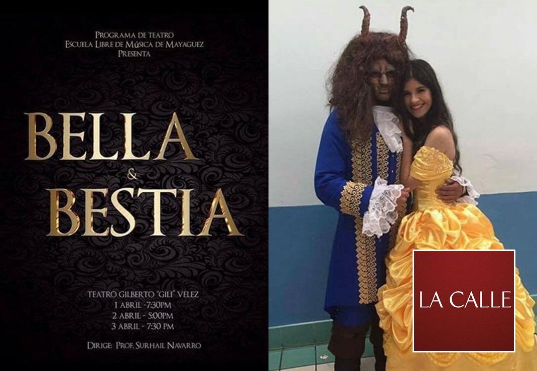 """La estudiante Kiara Crespo Malavé encarnará a """"Bella"""", y el joven Christopher Pellot Miranda, a """"Bestia"""" (Suministradas)."""