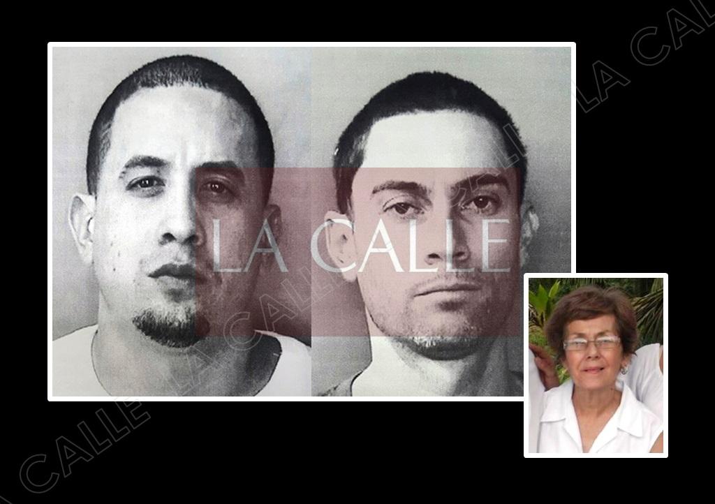 Christian Candelaria Feliciano y Joel Rodríguez Méndez enfrentan cadena perpetua por el asesinato de Doña María Nilda Ramos Caro (Suministradas/Policía).