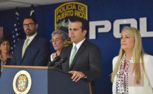 """Rosselló anuncia que policías podrán tener """"part times"""" usando su uniforme en su tiempo libre (Sonido)"""