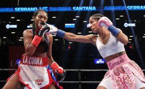 Campeona mundial en 5 divisiones distintas… Hace historia esta noche la boricua Amanda Serrano