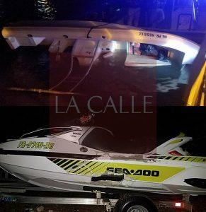 Tres personas heridas en accidente acuático esta noche en La Parguera (Adelanto)