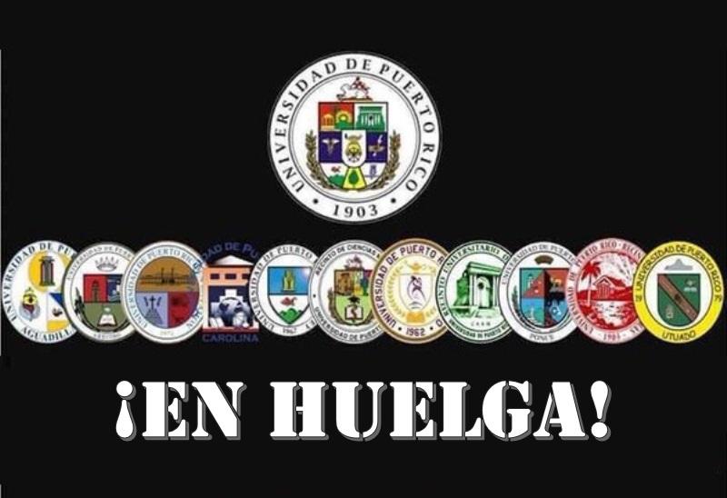 logos upr huelga
