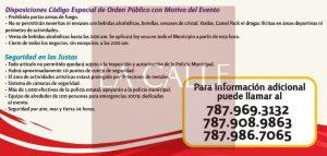 Dan a conocer restricciones sobre estacionamiento y tránsito en Mayagüez durante las Justas (Documentos)