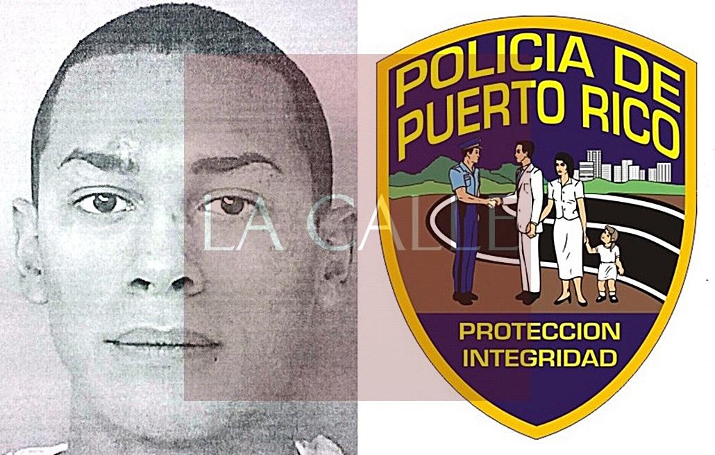 Foto de la ficha de Irving G. Ortiz Maysonet (Suministrada/Policía).