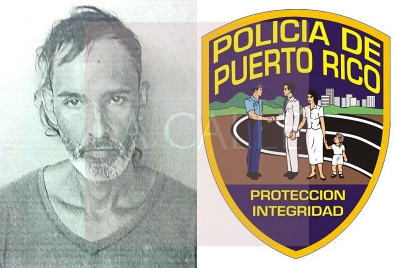 Foto de la ficha de José L. Malavé González (Suministrada/Policía).