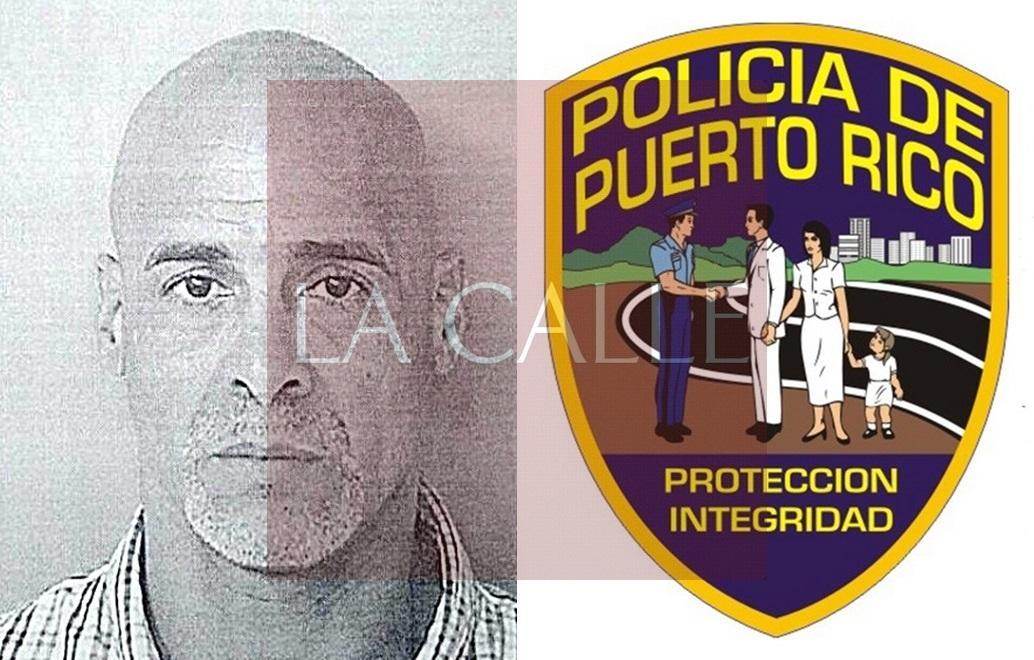 Foto de la ficha de Omar E. Ventura Valentín (Suministrada/Policía).