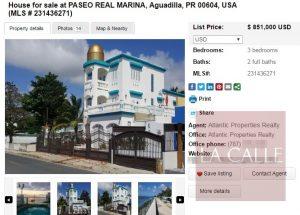 Piden $851 mil… En venta la mansión del Alcalde de Aguadilla