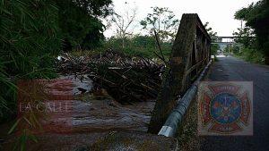 Río Culebrinas se desborda… Cerrada la carretera 115 en Aguada