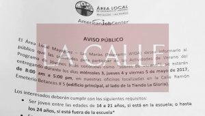 Repartirán los sobres de empleos de verano desde este miércoles en Mayagüez