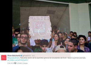 """Termina """"sin condiciones"""" la huelga en el Colegio de Mayagüez"""