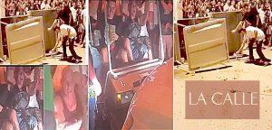 Buscan sospechosos de robar y pagarle fuego a carrito de golf en las Justas de Mayagüez
