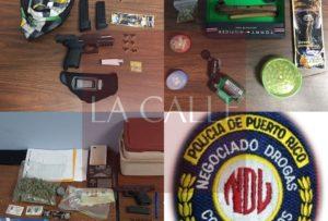 """Arrestan enfermero, dos cocineros y a un mesero durante transacción de drogas esta madrugada en """"parking"""" de restaurante en Mayagüez"""