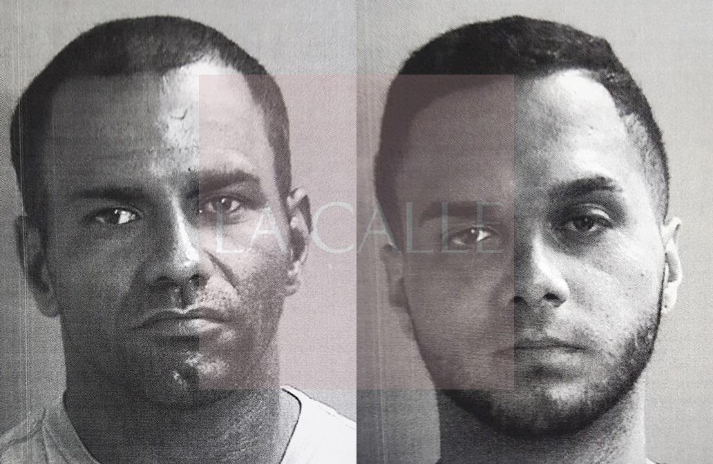 Fotos de las fichas de Francisco Vélez Vega y Josean Omar Ortiz (Suministradas/Policía).