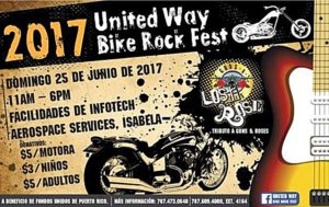 Infotech Aerospace reúne motociclistas por Fondos Unidos de Puerto Rico en el United Way Rock Fest