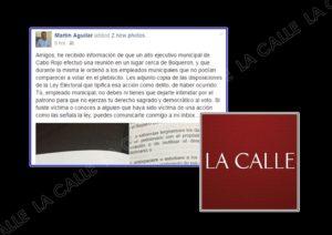 Abogado denuncia intento de coacción para evitar que empleados municipales de Cabo Rojo voten en el plebiscito