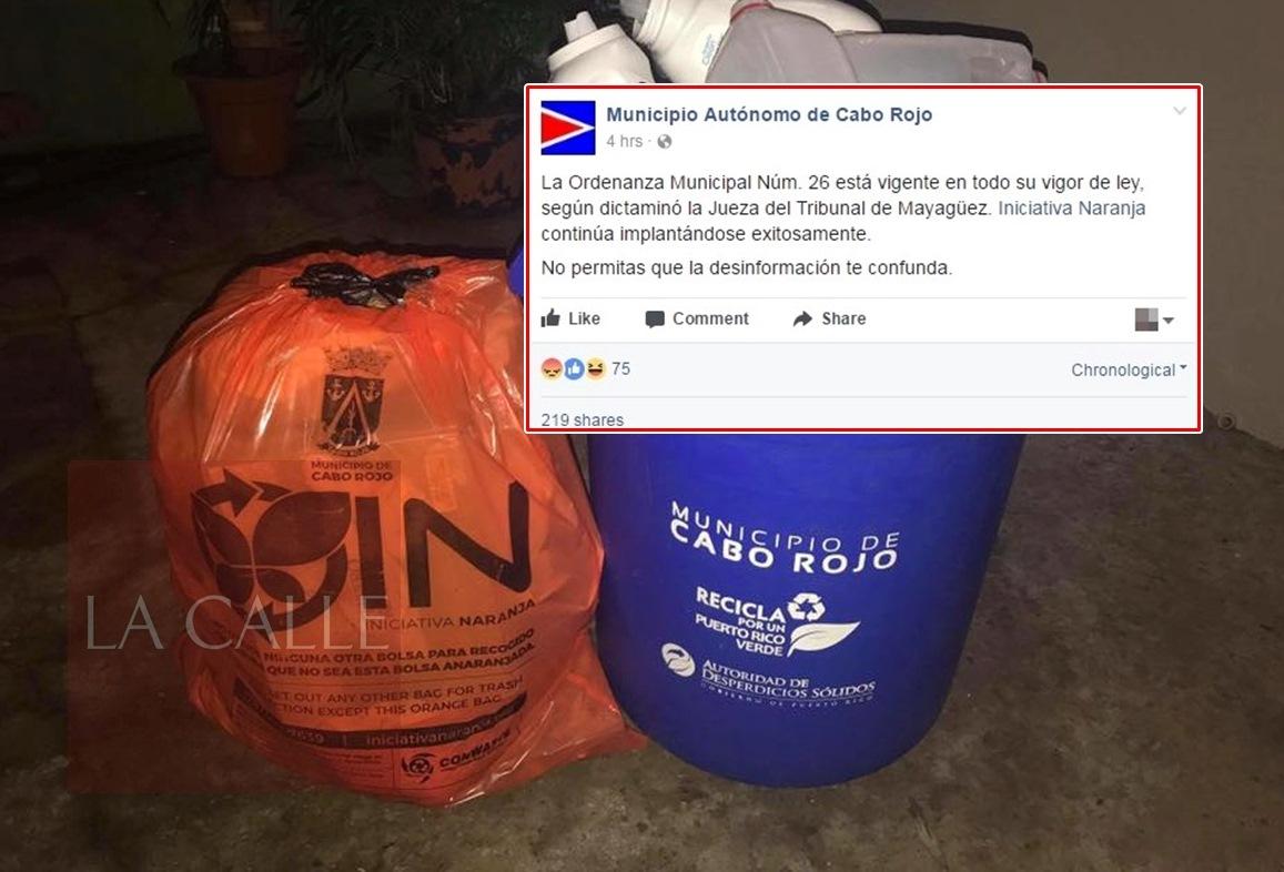 La situación fue desmentida por el alcalde Roberto Ramírez, el licenciado Carlos Contreras, presidente de ConWaste; y en la página oficial de Facebook del Municipio de Cabo Rojo.