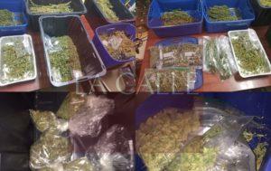 Confiscan 10 libras de marihuana a sujeto en Moca