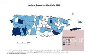 Hormigueros con la población de mayor edad de Puerto Rico