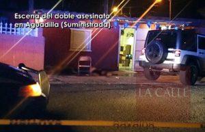 Acechaban a una de las víctimas… Doble asesinato y un herido anoche en Aguadilla (Ampliación)