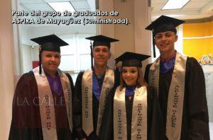 Se gradúan 25 jóvenes del programa ASPIRA de Mayagüez
