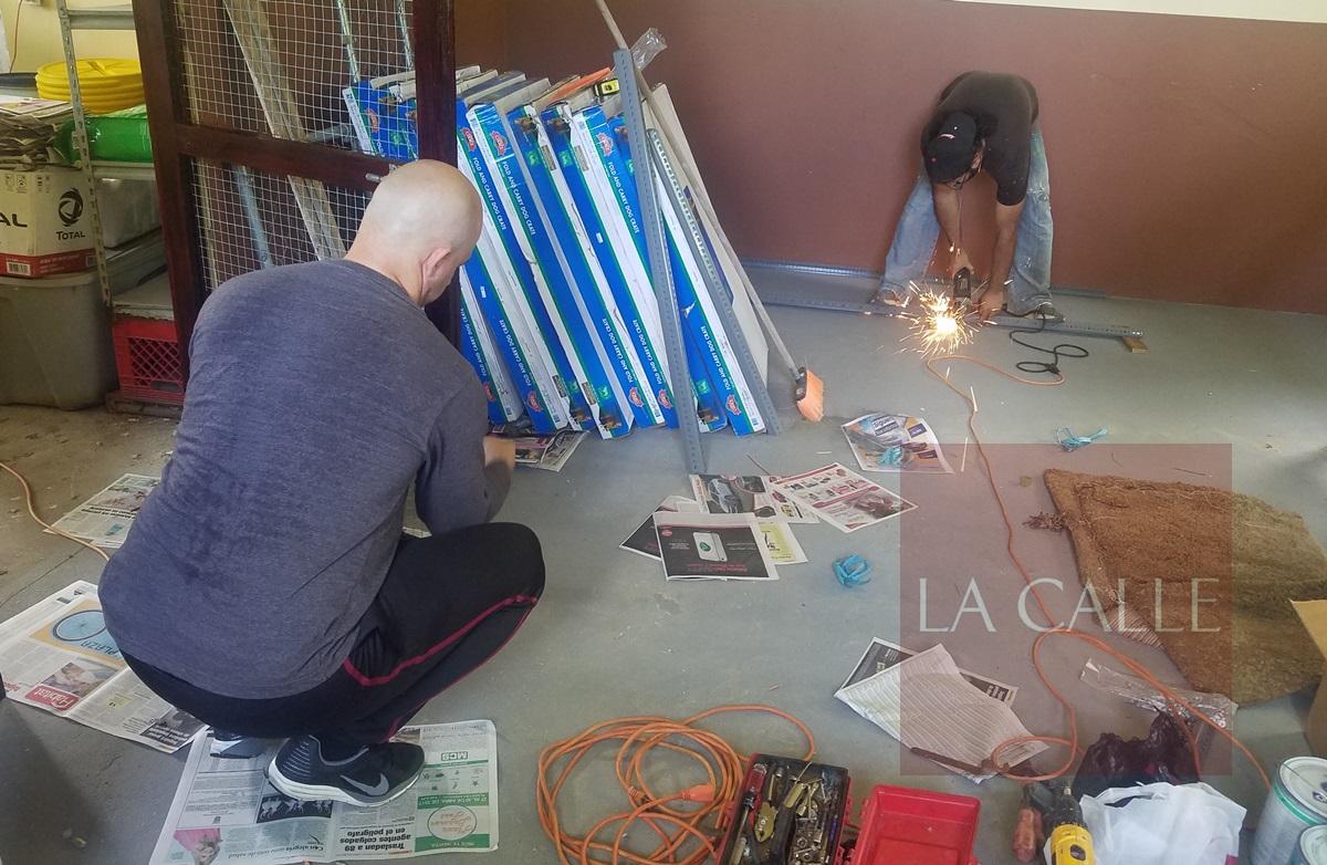 Voluntarios trabajando con esmero en el Santuario (Suministrada/SASFA).