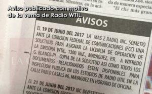 Cierra otro capítulo de la historia de la radio en Mayagüez… WAPA Radio compra a WTIL