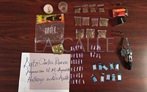 Ocupan drogas y un arma en el residencial Aponte de Aguadilla