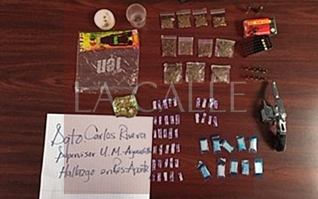 Hallazgo de drogas residencial Aponte Aguadilla 08-22-17