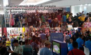 Miles abarrotan el Mayagüez Mall… Seria preocupación por los efectos del eclipse solar en la salud visual de la gente