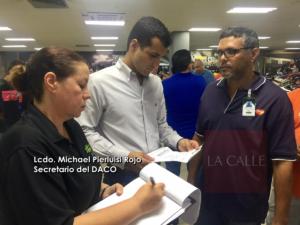 DACO coteja inventarios de artículos de primera necesidad (Fotos)