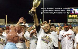 Gaby Martínez… El Más Valioso de la Serie Final (Fotos)