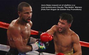 Rojas noquea en Las Vegas para coronarse campeón mundial (Fotos)